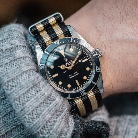 THE VINTAGE WATCH COMPANY NATO  BY GECKOTA  SORT & GULL