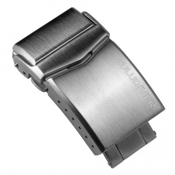 ZULUDIVER FOLD-OVER DIVER CLASP MED PUSH BUTTONS